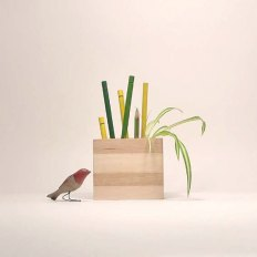 Salvaged Wood Desk Organizer by The Bird on the Tree | Friday Favorites via Fox & Brie